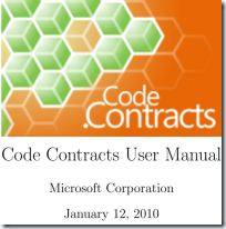 CodeContractsManual